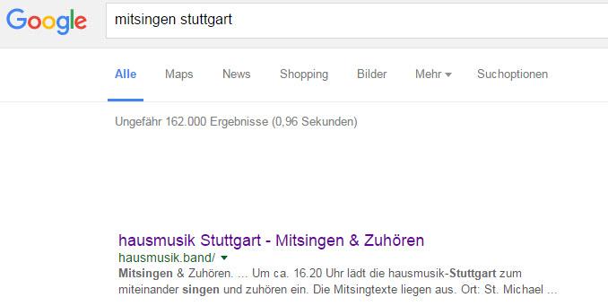 Frau Google weiß Bescheid.